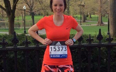 Bravo Pamela pour ton superbe résultat au marathon de Boston!