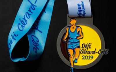 La médaille du 26ème Défi Gérard-Côté est arrivée!
